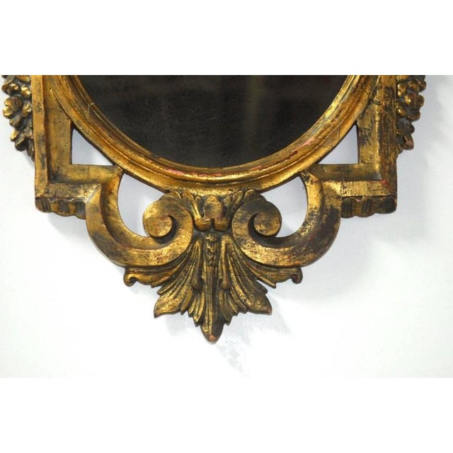 French Louis XVI Neoclassical Style Giltwood Mirror - Image 4 of 7