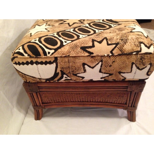 Vintage Padma Plantation Accent Chair & Ottoman - Image 11 of 11
