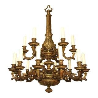 Antique Regency style chandelier