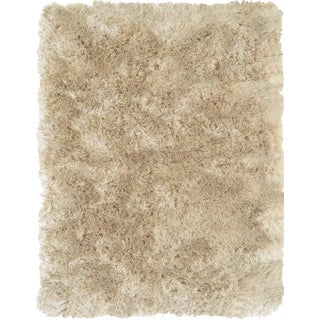 Indochine Cream Shag Rug by Feizy