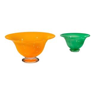 Wilke Adolfsson Glass Bowls - A Pair