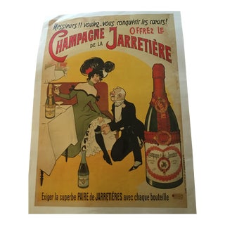 Vintage French Champagne Poster