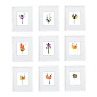 Custom Botanical Premium Giclee Prints - Set of 9