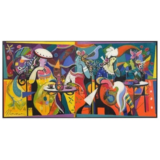 "Original Isaac Maimon ""An American in Paris"""