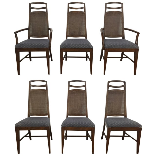 Mid Century Dining Chairs - Set of 6 - Image 1 of 11