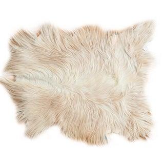 Angora Skin Rug - 2′6″ × 3′3″