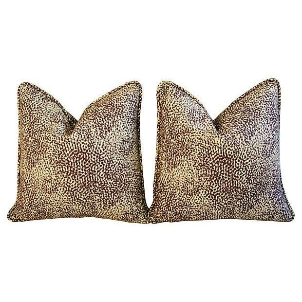 Image of Designer Nate Berkus Ubari Fabric Pillows - a Pair