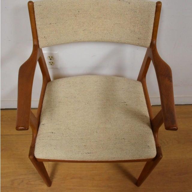 Mid-Century Teak Side Chair - Image 4 of 11