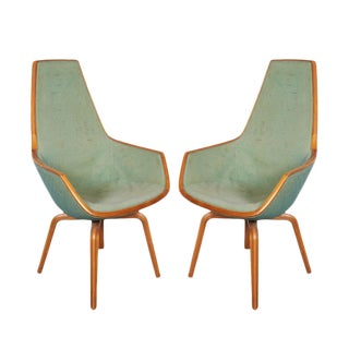 Giraffe Chairs by Arne Jacobsen - Pair