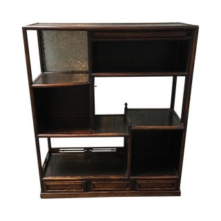 Vintage Japanese Small Scale Etagere