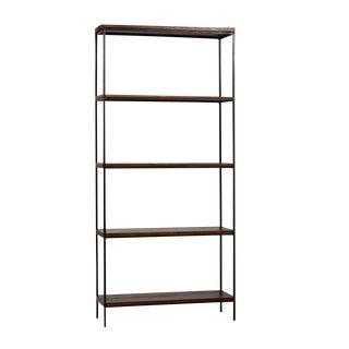 Large Reclaimed Wood & Iron Shelf