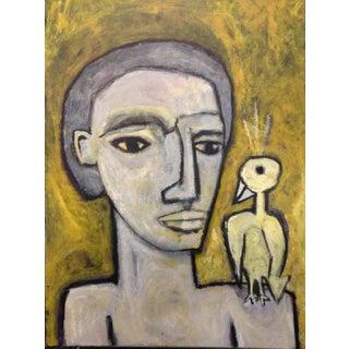 Man With Bird by Daniel Balter Rip