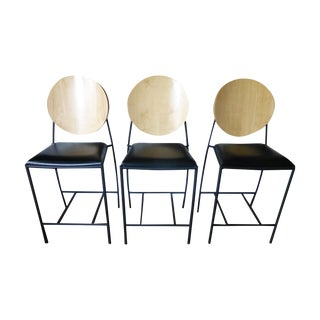 Dakota Jackson Vik-Ter II Padded Counter Stools