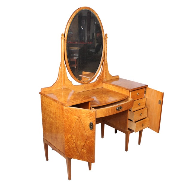 Hollywood Regency-Style Dressing Table - Image 1 of 5
