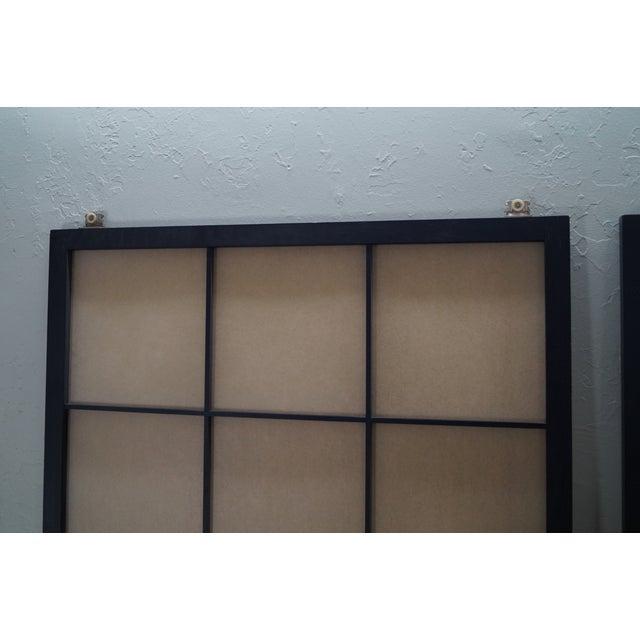 Vintage Japanese Shoji Sliding Doors - A Pair - Image 8 of 10