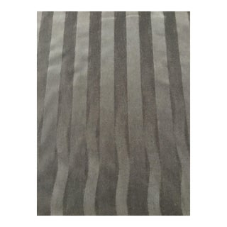 Donghia Gray Striped Mohair Fabric - 6.5 Yards