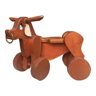 Riding Bull Scooter