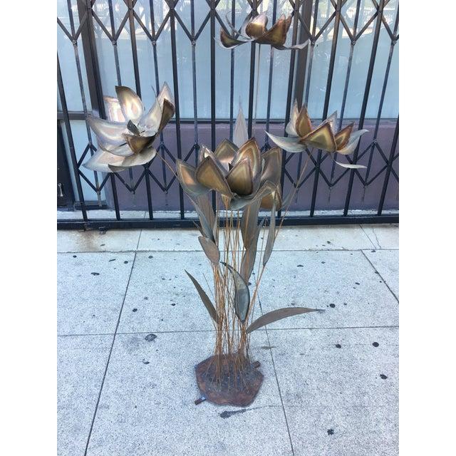 Floral Torch Cut Sculpture - Image 3 of 8