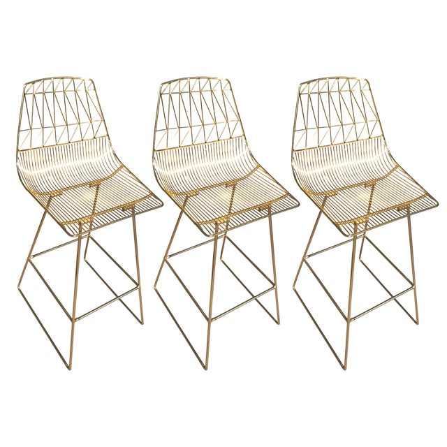 New Gold Bend Goods Bar Stools Set Of Chairish - Bend furniture