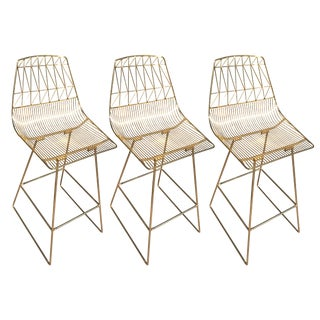 New Gold Bend Goods Bar Stools - Set of 3