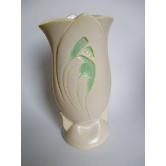 Roseville Silhouette Art Pottery Vase - Image 9 of 11