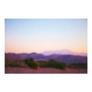 "Cheryl Maeder ""Desert Purple Haze"" Photographic Watercolor Print"