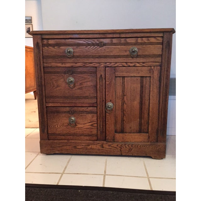 American Antique Chest With Drawers - Image 2 of 3