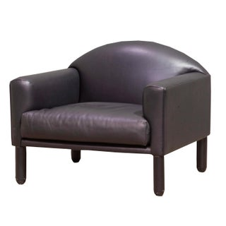 Vintage Sarreid LTD Modern Leather Armchair