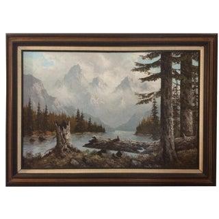 Oil Landscape by William Hirsch
