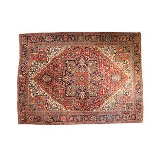 """Vintage Heriz Carpet - 8'6"""" x 11'4"""""""