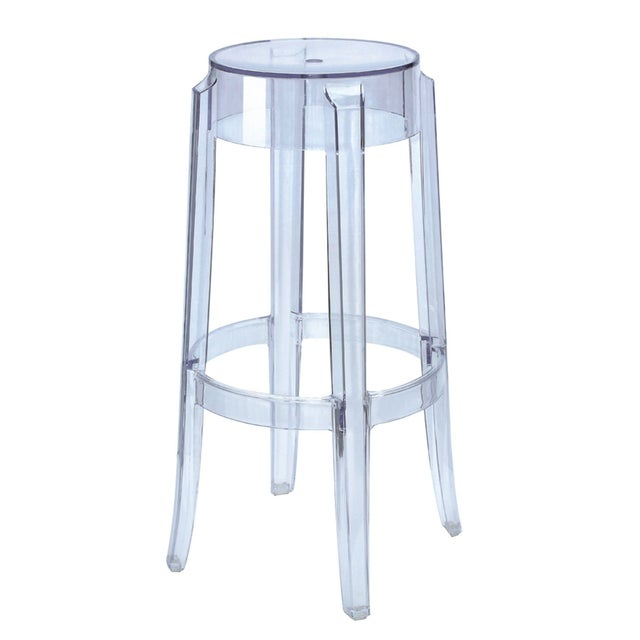 Clear Acrylic Bar Stool Chairish