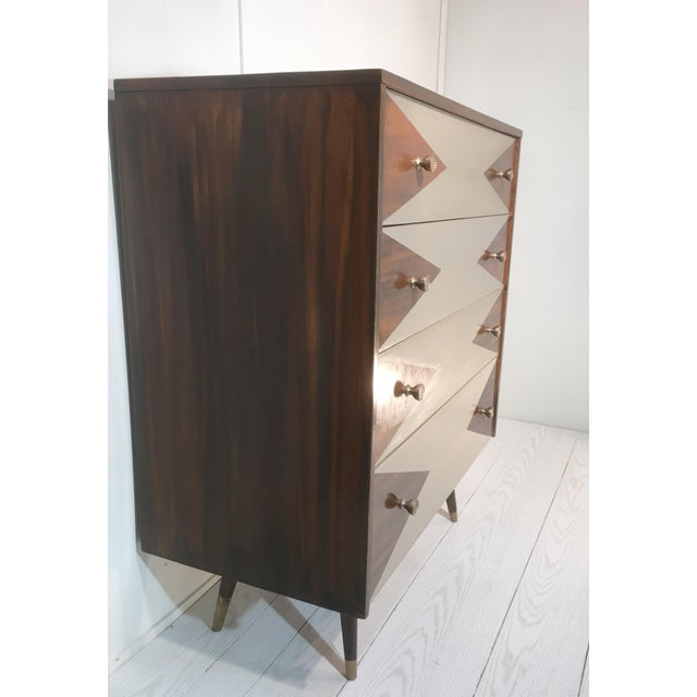 Paul McCobb Mid-Century Modern Geometric Chest - Image 2 of 8