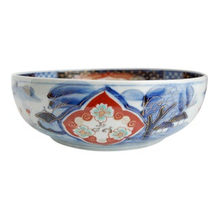 Japanese Hand Painted Porcelain Imari Bowl
