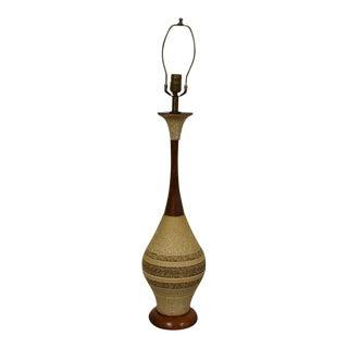 Mid-Century Walnut Lamp