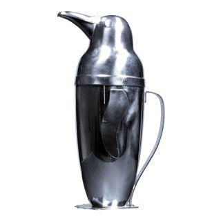 Vintage Napier Penguin Cocktail Shaker