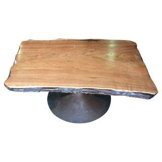 Butternut Wood Coffee Table