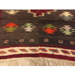 Image of Vintage Turkish Tribal Angora Rug - 3′3″ × 4′5″