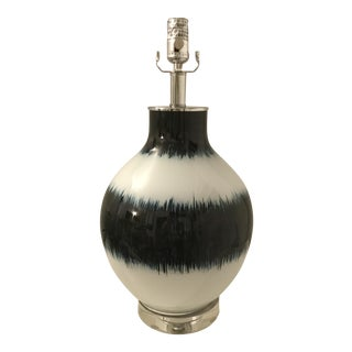 Regina Andrew Design Hand Painted Indigo Glass Table Lamp