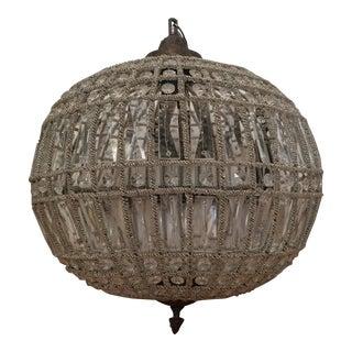 Sphere Acanthus Chandelier