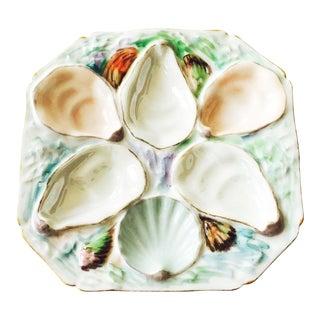 Vintage Porcelain Oyster Plate