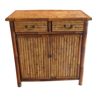 Split Bamboo Cabinet