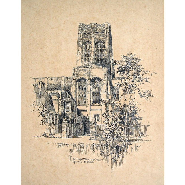 West Point, 1908 Architectural Rendering - Image 1 of 3