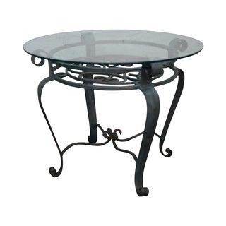 Maitland Smith Iron Side Table