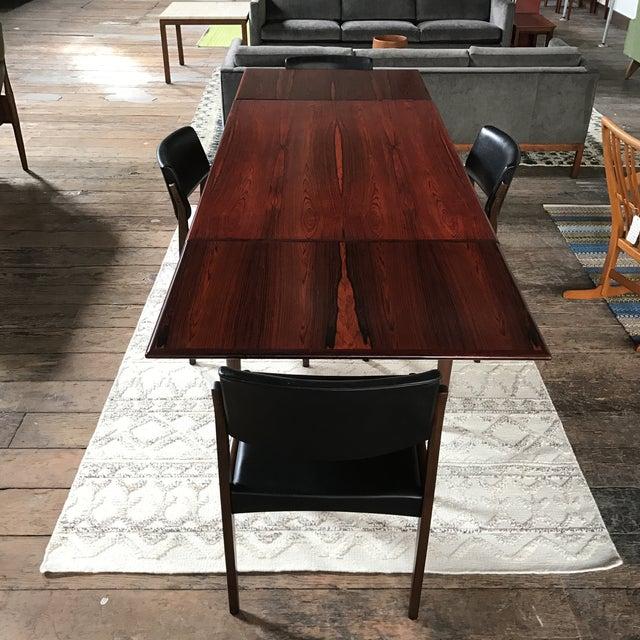 H. W. Klein for Bramin Danish Rosewood Dining Set - Set of 5 - Image 3 of 11
