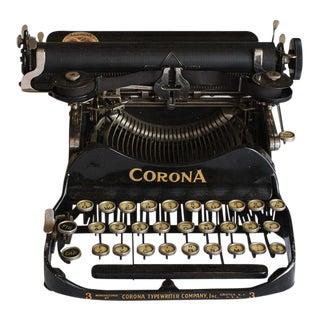 1912 Corona Portable Folding Typewriter