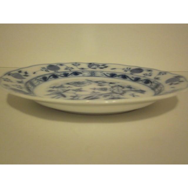 Meissen Blue & White Onion Pattern Porcelain Plate - Image 3 of 6