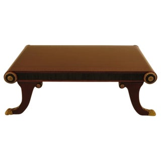 Neoclassical Coffee Table