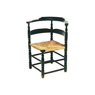 18th-Century American Corner Chair