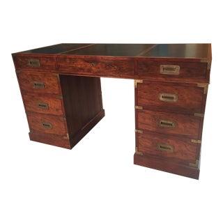 Baker Campagin Style Rosewood Desk