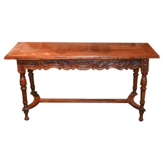 18th c. French Provincial Sofa Table